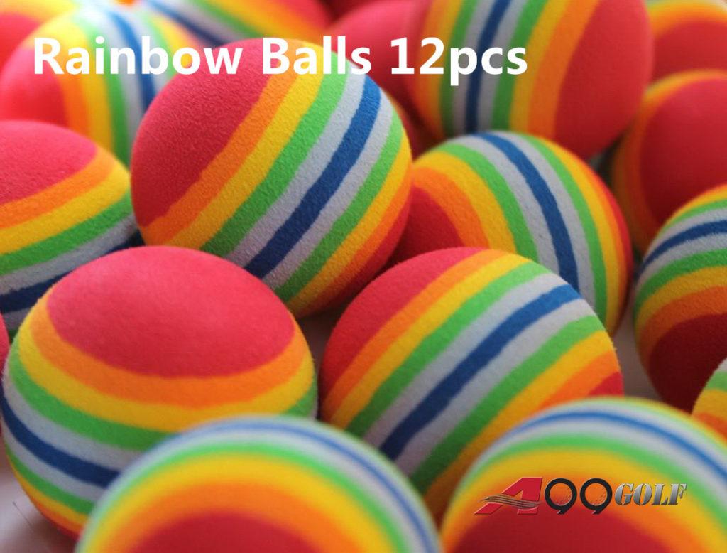 Rainbow Balls 12pcs
