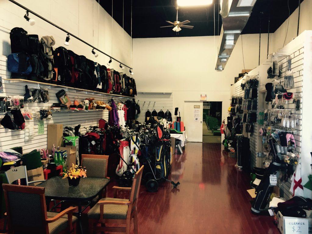 A99 Golf pro-shop